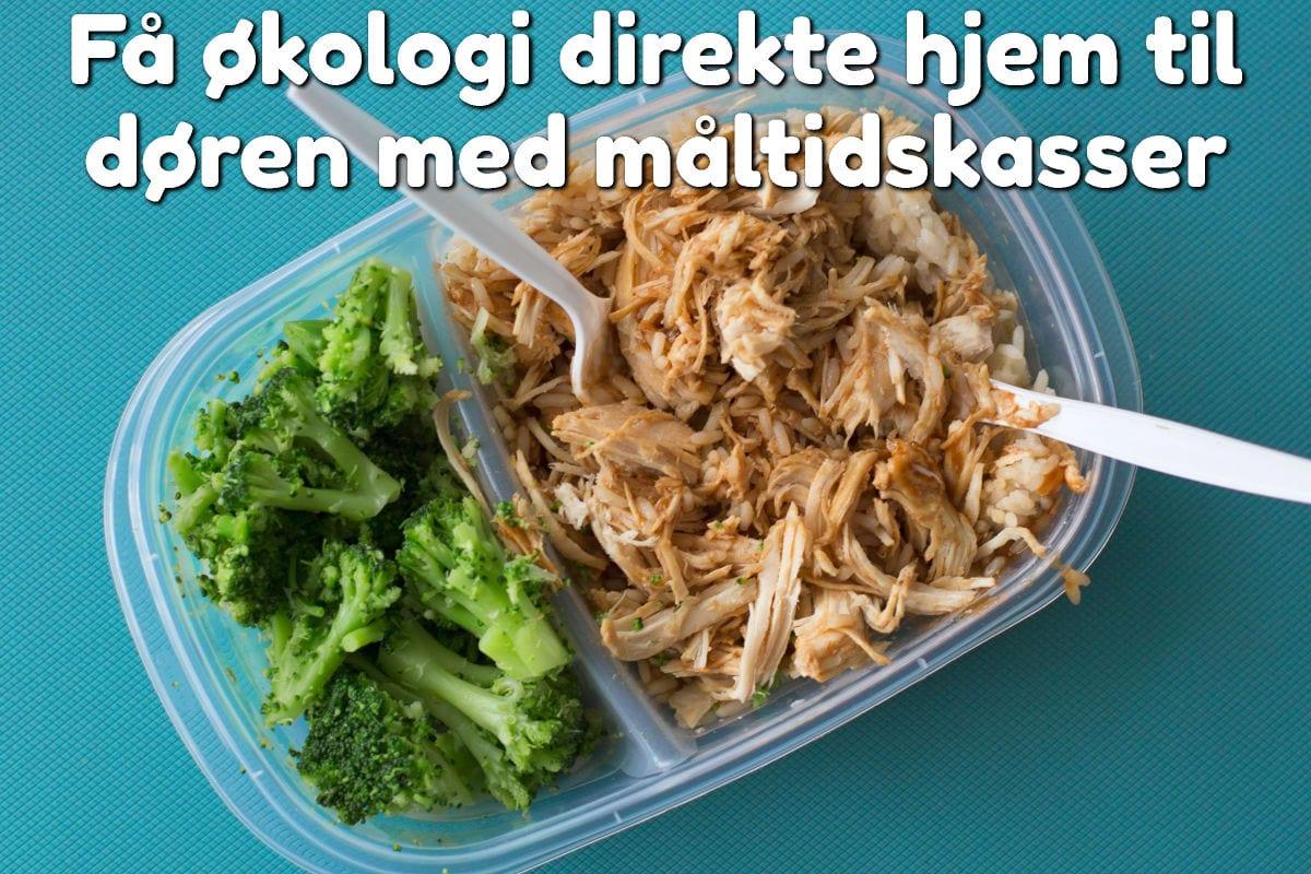 Få økologi direkte hjem til døren med måltidskasser